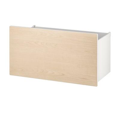 SMÅSTAD Box, birch, 90x49x48 cm