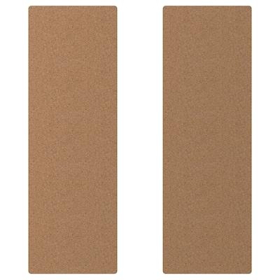 SMÅSTAD Door, cork, 30x90 cm