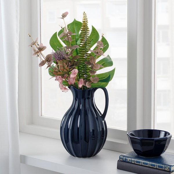 SMYCKA Artificial bouquet, clover, 51 cm