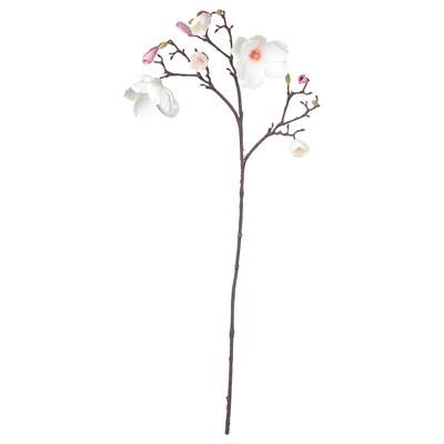 SMYCKA Artificial flower, Magnolia/pink, 110 cm