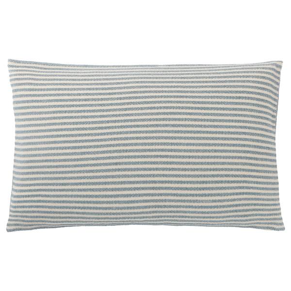 SNÖFRID cushion cover turquoise/white 40 cm 65 cm