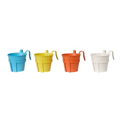 SOCKER Plant pot with holder IKEA