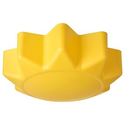 SOLHEM Ceiling lamp, yellow sun
