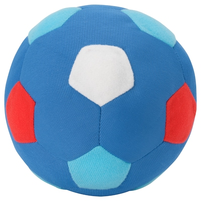 SPARKA Soft toy, football mini/blue red