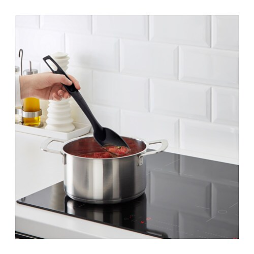 SPECIELL Spoon IKEA Kind to pots and pans with non-stick coating.