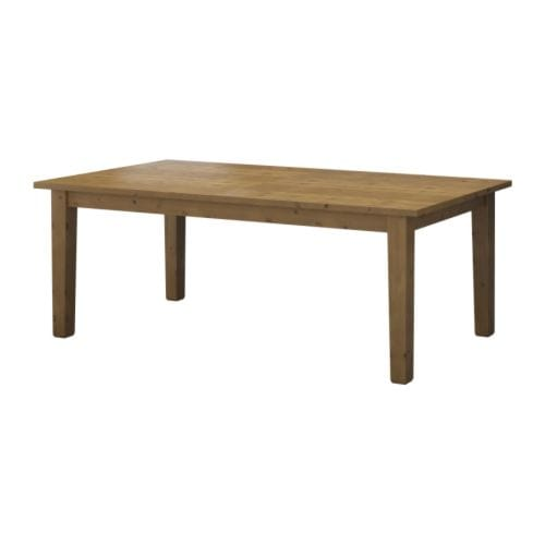 STORNÄS Extendable table IKEA 2 extension leaves included.  It's quick and easy to change the size of the table to suit your different needs.