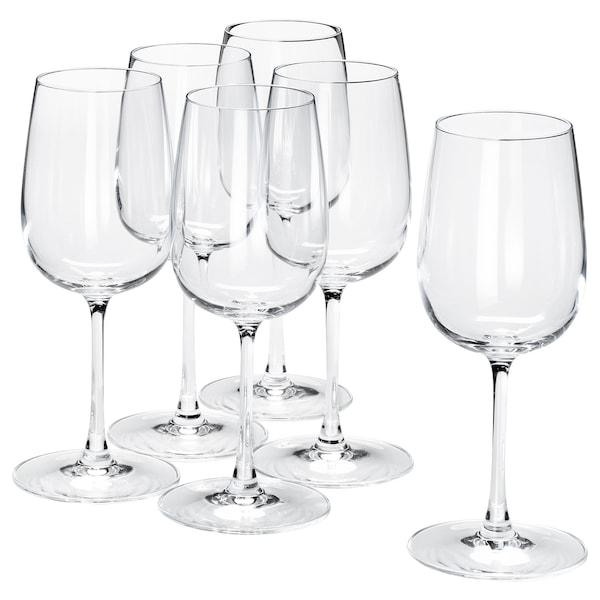 STORSINT White wine glass, clear glass, 32 cl