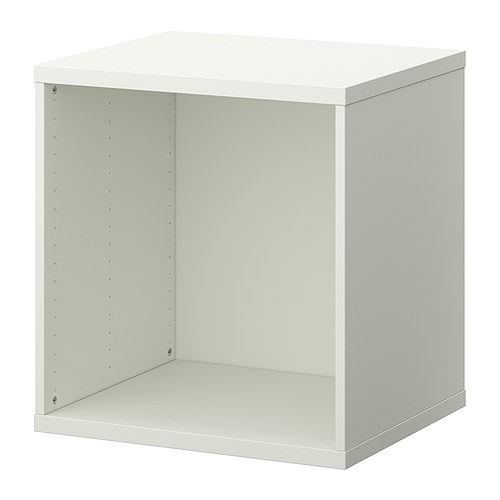 STUVA Frame IKEA Low storage to match your child's height; makes it easier for them to reach and organize their things.