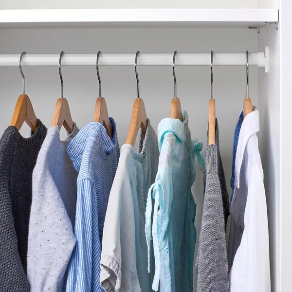STUVA GRUNDLIG Clothes rail, white