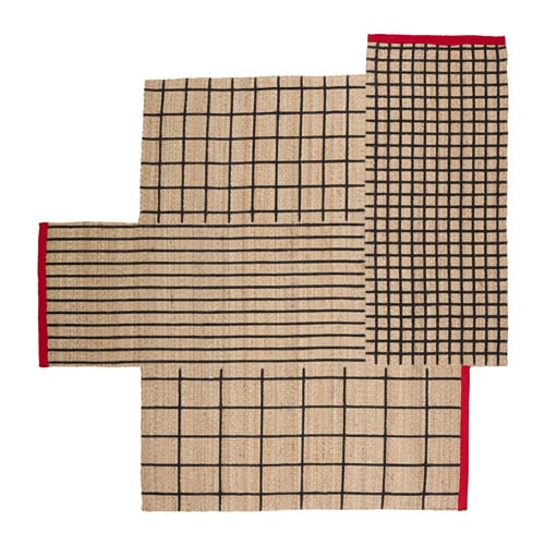 TERNSLEV Rug, flatwoven IKEA Twist, turn and play around with the shape of this hard-wearing rug until you find the perfect spot in your home.