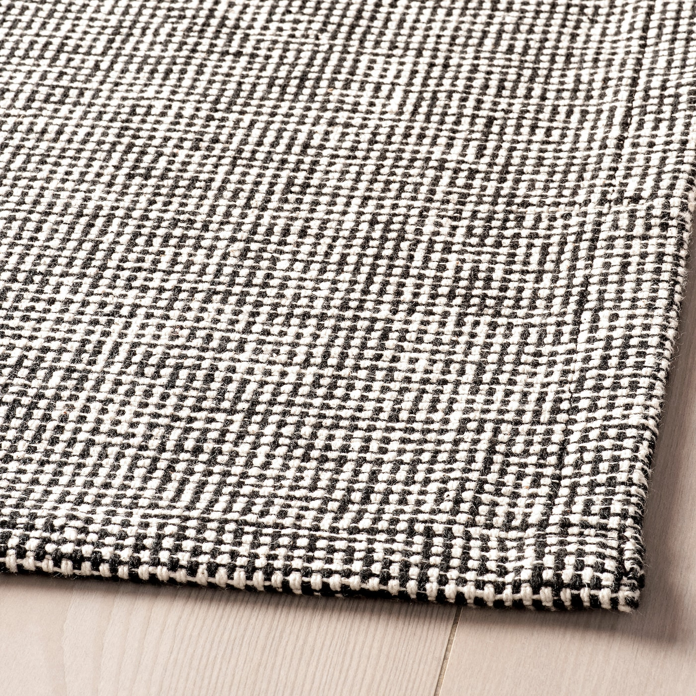 Tiphede Rug Flatwoven Grey White Ikea