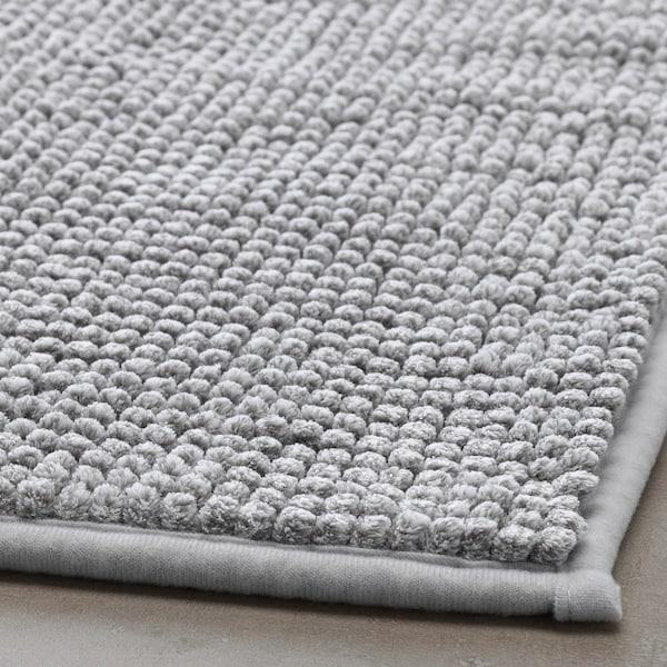 TOFTBO Bath mat, grey-white mélange, 40x60 cm