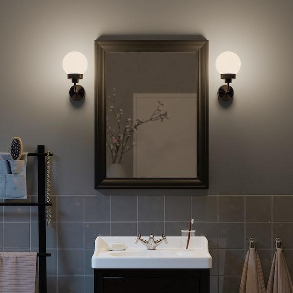 TOFTBYN Mirror, black, 65x85 cm
