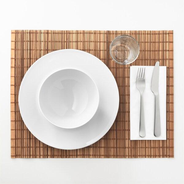 TOGA Place mat, natural/bamboo, 35x45 cm