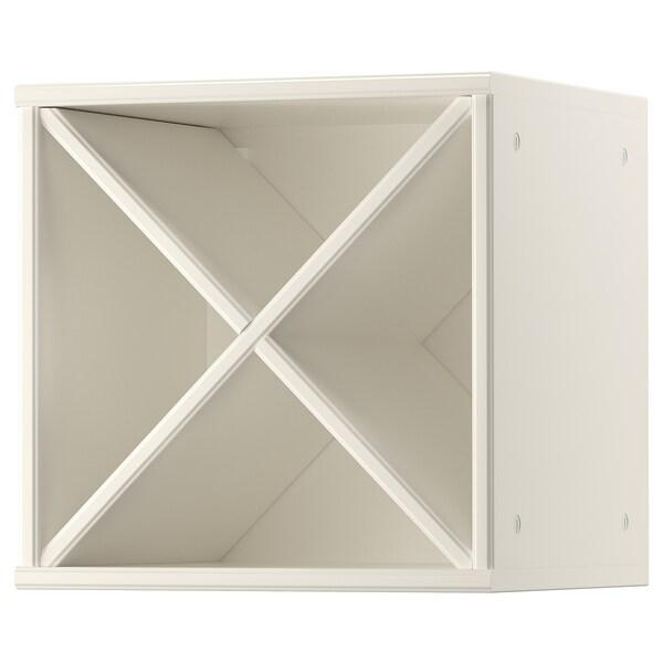 TORNVIKEN wine shelf off-white 40.0 cm 37.0 cm 36.6 cm 40.0 cm 15 kg