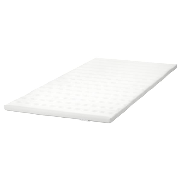 TUDDAL Mattress pad, white, 90x200 cm