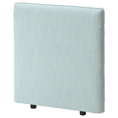 VALLENTUNA Backrest, Hillared light blue, 80x80 cm