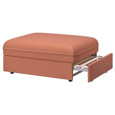 VALLENTUNA Sofa-bed module, Kelinge rust