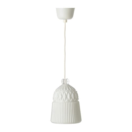 VANADIN Pendant lamp IKEA Gives a general light.