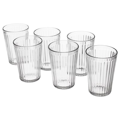 VARDAGEN Glass, clear glass, 31 cl