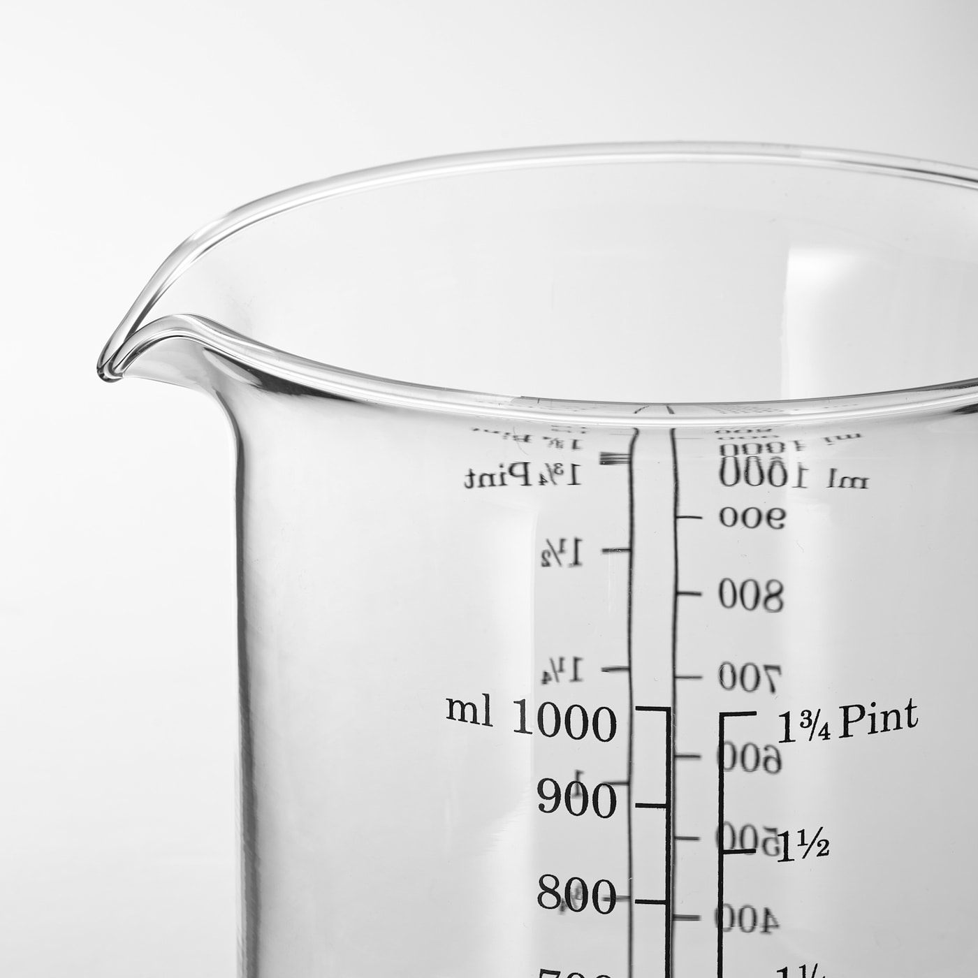 VARDAGEN Measuring jug, glass, 1.0 l