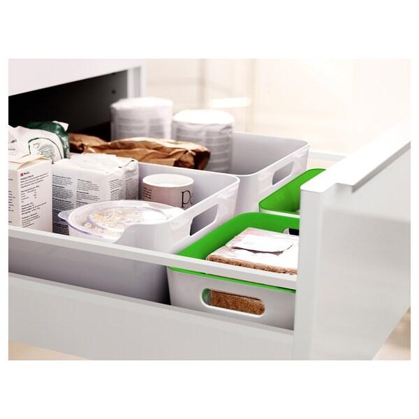 VARIERA Box, green, 24x17 cm