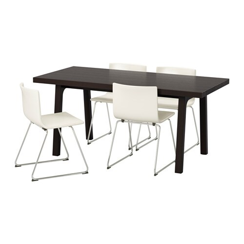 VÄSTANBYVÄSTANÅ BERNHARD Table And Chairs IKEA - Coffee table with 4 chairs
