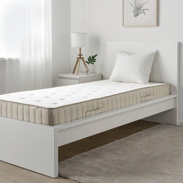 VATNESTRÖM Pocket sprung mattress, extra firm/natural, 90x200 cm