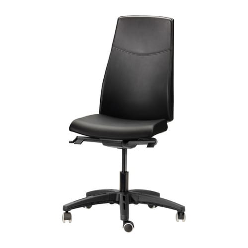 VOLMAR Swivel chair IKEA 10 year guarantee.   Read about the terms in the guarantee brochure.  Cover in durable, easy care grain leather.