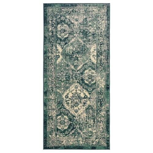 VONSBÄK rug, low pile green 180 cm 80 cm 8 mm 1.44 m² 1700 g/m² 645 g/m² 6 mm