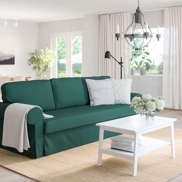 VRETSTORP 3 seat sofa bed   Totebo dark turquoise   IKEA