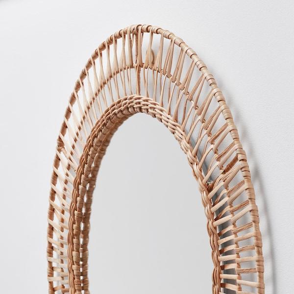 ÄNGLARP Ogledalo, ratan, 67 cm