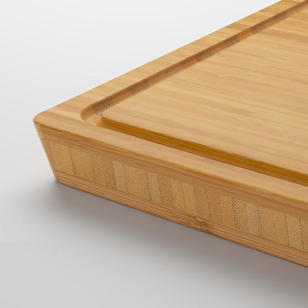 APTITLIG Mesarska rezalna deska, bambus, 45x36 cm