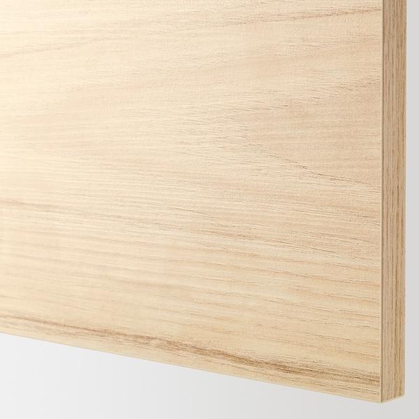 ASKERSUND Vrata, imitacija svetlega jesena, 40x80 cm