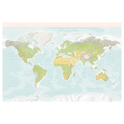 BILD Plakat, Planet Zemlja, 61x91 cm