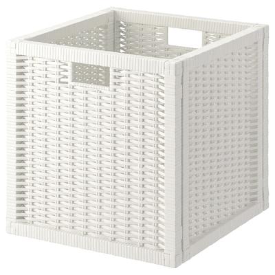 BRANÄS Košara, bela, 32x34x32 cm