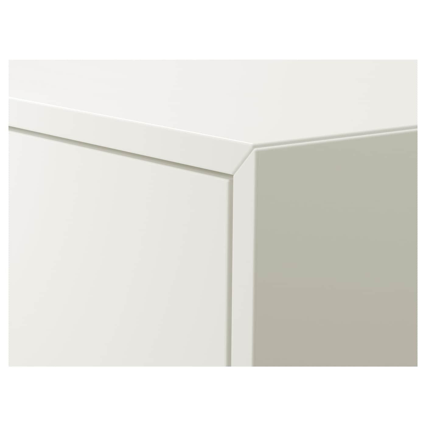 EKET Omarica z 2 predaloma, bela, 35x35x35 cm