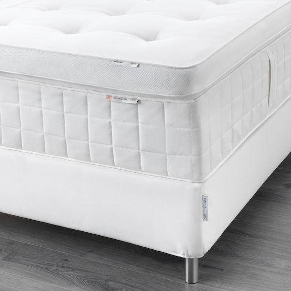 ESPEVÄR Divanska postelja, Hyllestad srednje čvrst/Tustna bela, 160x200 cm
