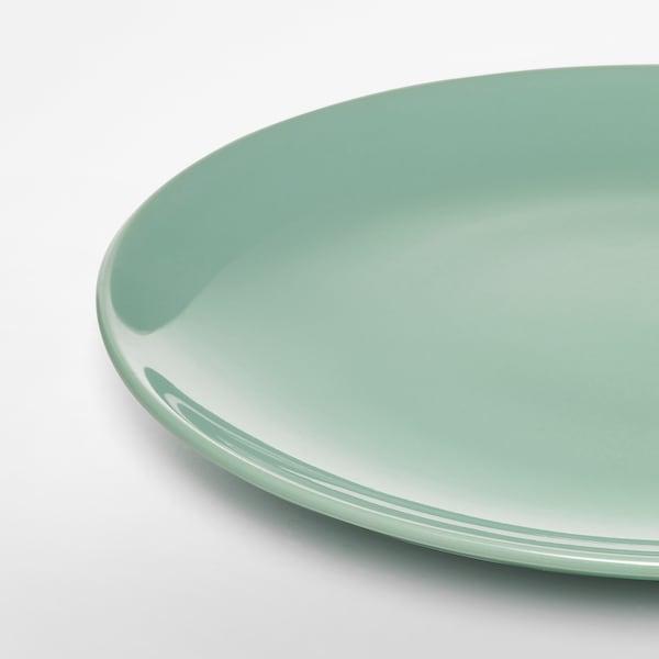 FÄRGRIK Krožnik, svetlo zelena, 27 cm