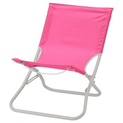 HÅMÖ Stol za plažo, roza
