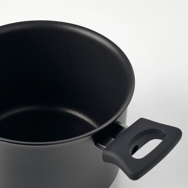 HEMLAGAD Lonec s pokrovom, črna, 3 l