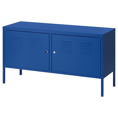 IKEA PS Omarica, modra, 119x63 cm