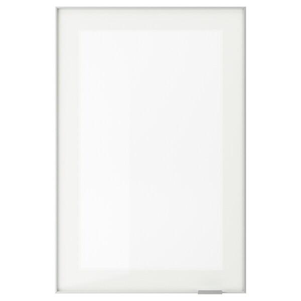 JUTIS Steklena vrata, matirano steklo/aluminij, 40x60 cm