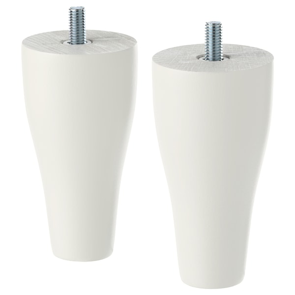 KABBARP Noga, bela, 10 cm