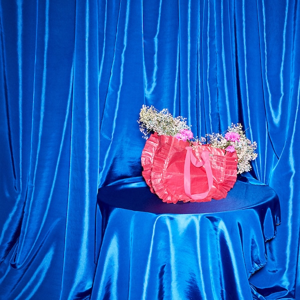 KARISMATISK Nakupovalna vreča, srednja, roza, 25 l