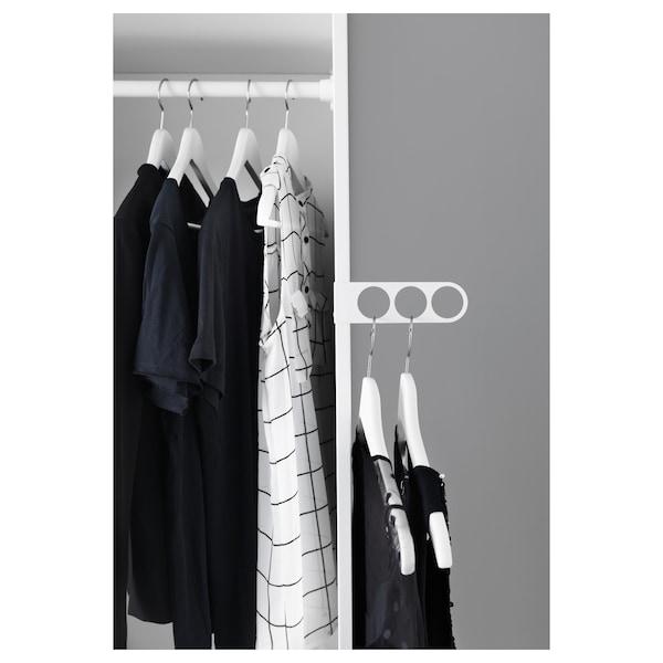 KOMPLEMENT Priročni obešalnik za oblačila, bela, 17x5 cm
