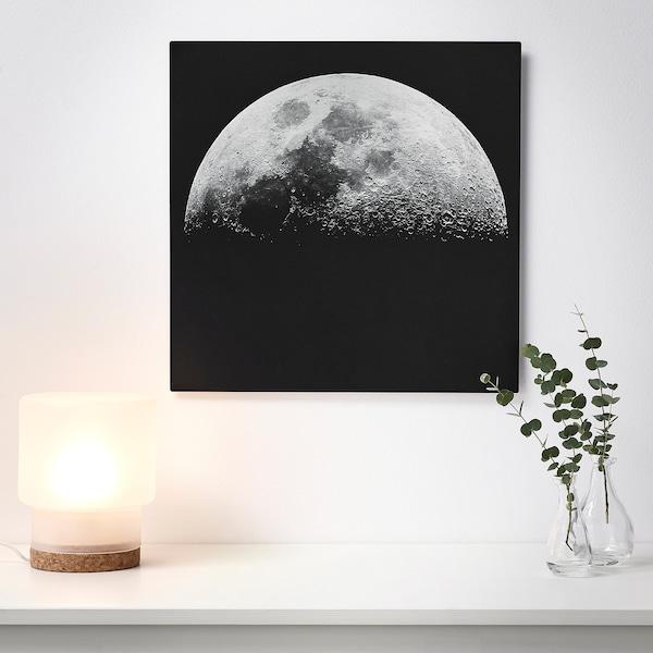 KOPPARFALL Slika, Lunino površje, 49x49 cm