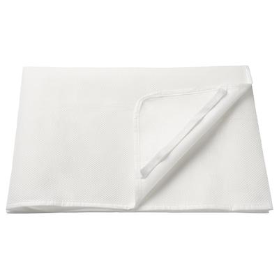 LENAST Nepremočljiv posteljni nadvložek, bela, 70x160 cm