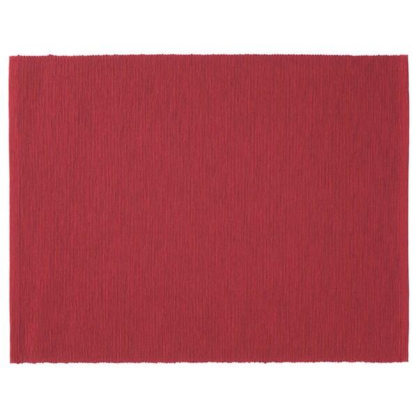 MÄRIT Pogrinjek, temno rdeča, 35x45 cm