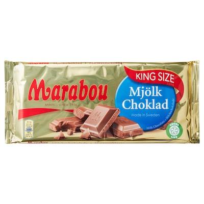 MARABOU Mlečna čokolada v tablici